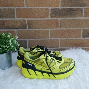 Hoka One One Conquest 1 Running Sneakers Rare Neon